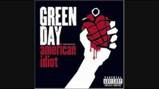 Green Day- American Idiot [HQ]