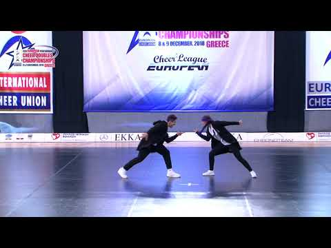 27 SENIOR DOUBLE CHEER HIP HOP Pasichenko   Pasichenko FREESTYLE RUSSIA
