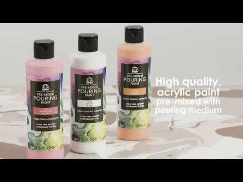 FolkArt Pouring Paint & Medium