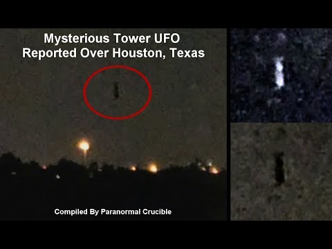nouvel ordre mondial | Mysterious Tower UFO Reported Over Houston, Texas, USA - May 1, 2018