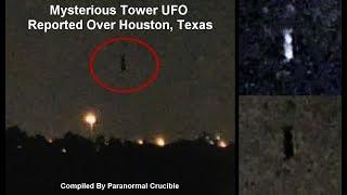 フライング・ヒューマノイドなのか?テキサス州ヒューストンの上空で謎の浮遊型物体が目撃される(アメリカ)