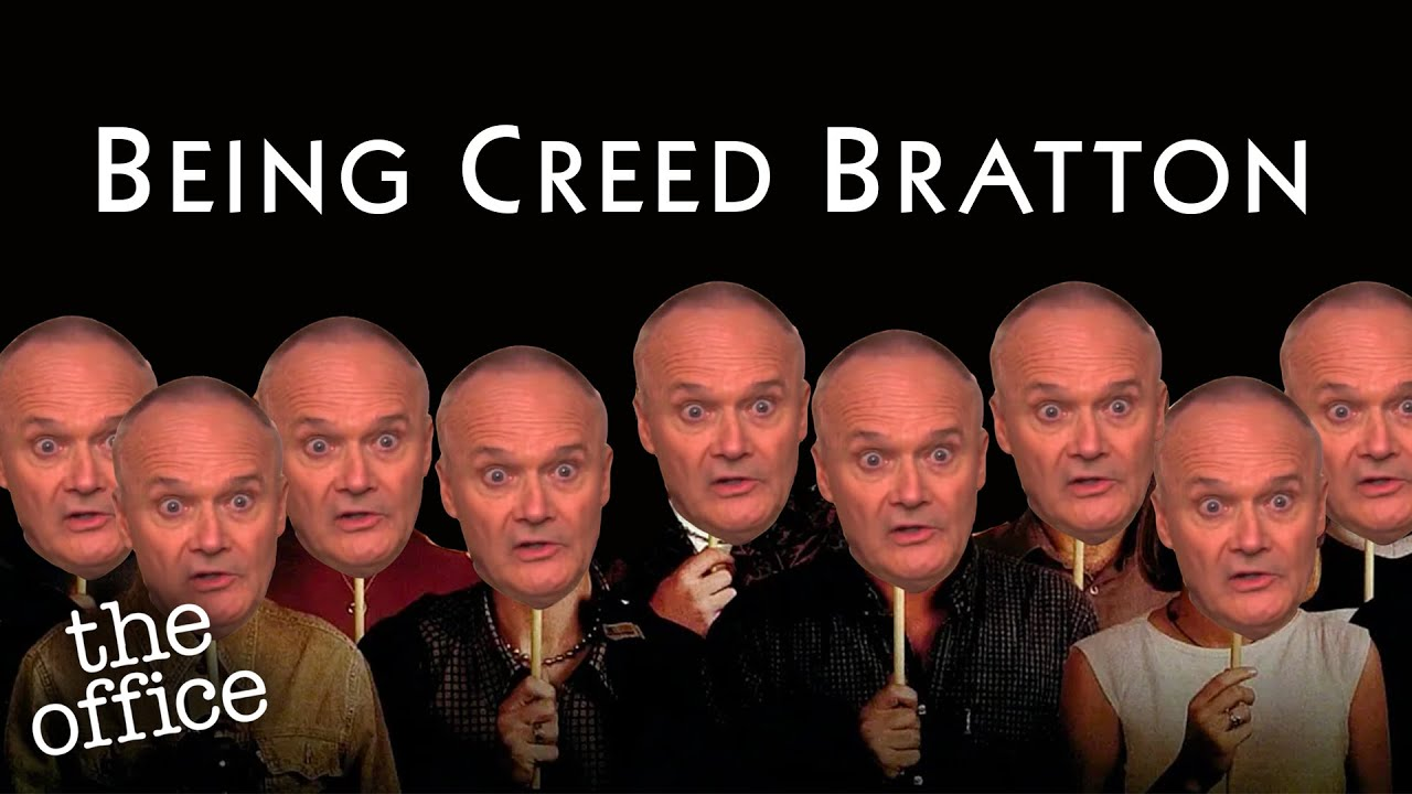 BEING CREED BRATTON | The Office | Comedy Bites