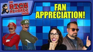 Rich Alvarez April 2020 Fan Appreciation Day!