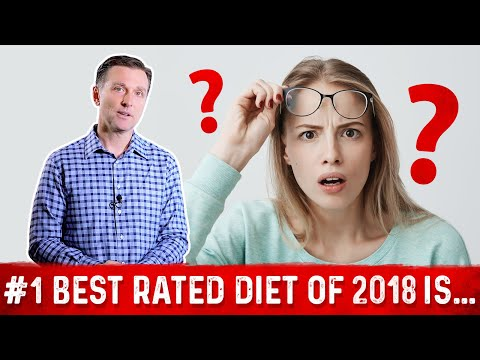 The #1 Best Rated Diet of 2018 Is......