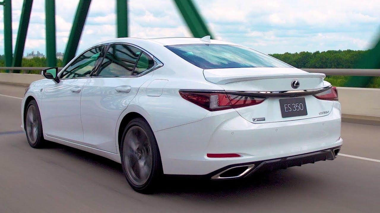 2019 Lexus Es 350 F Sport White Nova Youtube