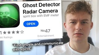 """Apps That Can """"Detect Ghosts"""""""