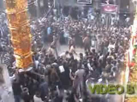 tazia carried by thousand peoples of nowgawan sadat 10th moharram