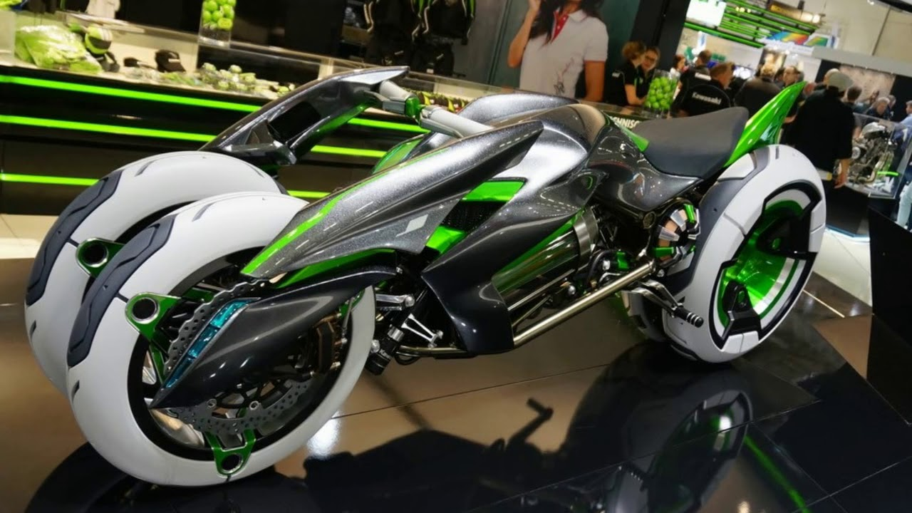 Kawasaki Concept J Electric Three Wheeler New 2018 Kawasaki