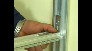 видео Офисные перегородки с остеклением из алюминия.