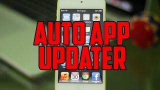 Auto App Updater: Actualiza todas tus apps automáticamente de iPhone, iPod Touch & iPad