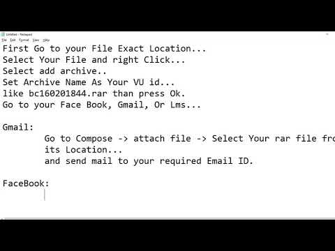 How To Submit And Share Your CS101 HTML File.