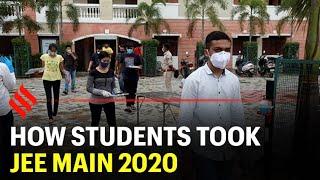 How students took JEE Main Exam 2020