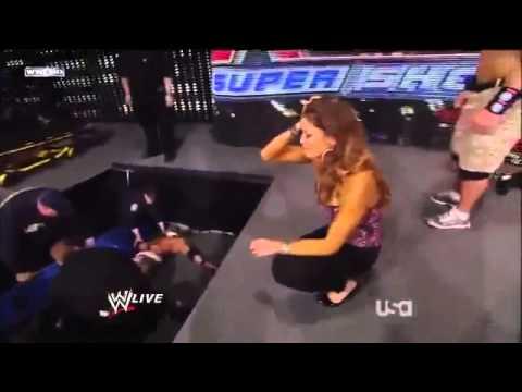 Zack Ryder Gets Injured By Kane Raw 1 23 12 HQ