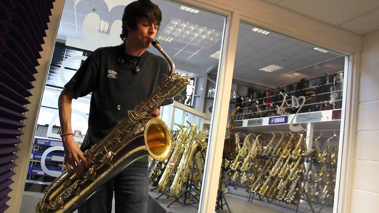 Rampone & Cazzani R1 Jazz AGU Baritone Saxophone - Sax co uk