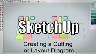 SketchUp: Making A Cutting Layout For Plywood Parts - 216