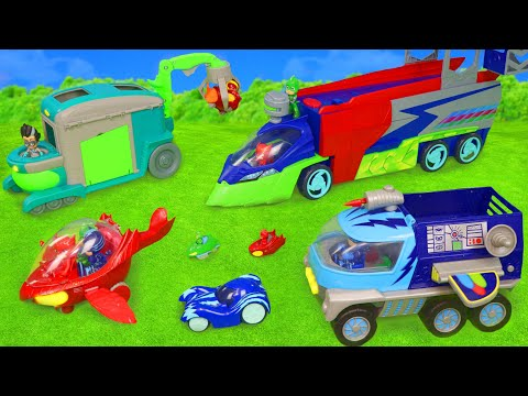 PJ Masks Toys: Cars From Catboy, Gekko, Owlette & Romeo Toy Vehicles For Kids