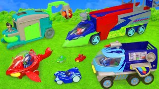 Download PJ Masks Toys: Cars from Catboy, Gekko, Owlette & Romeo Toy Vehicles for Kids Mp3 and Videos