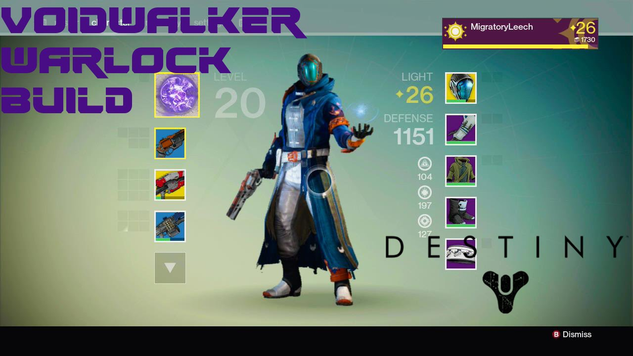 Voidwalker Quot Offensive Quot Warlock Build Ft Apotheosis Veil