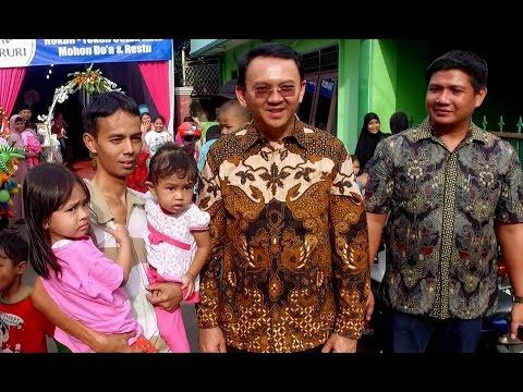 EKSLUSIF  Gubernur AHOK di Kampung Pondok Pinang /  Hadiri acara Unduh Mantu Zul & Iis