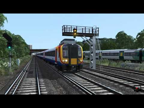 Train Simulator: Portsmouth Direct Line: London Waterloo - Portsmouth Route Add-On (First Look) |