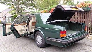 Decades of Dirt! Bentley Turbo R Interior Clean