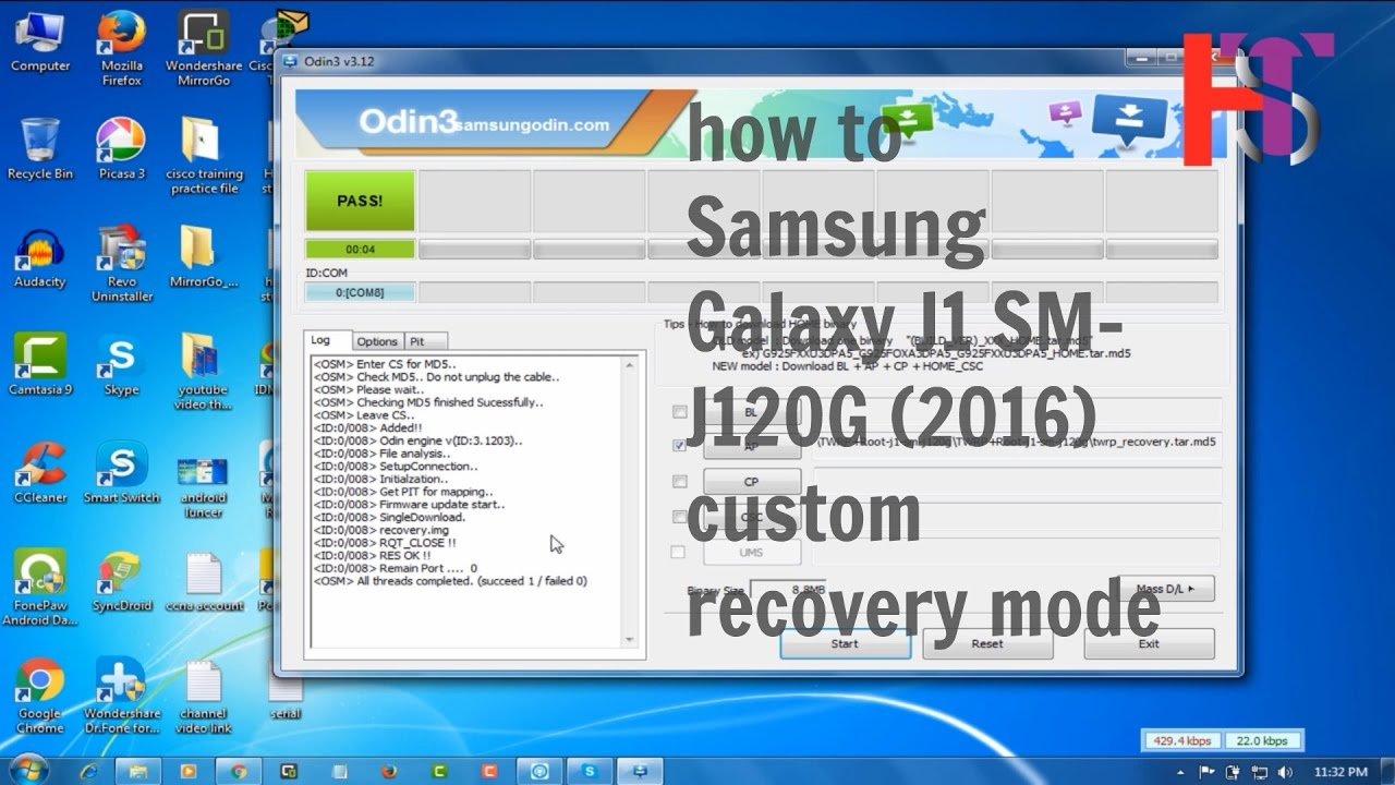 Samsung s6102 flash file 4file