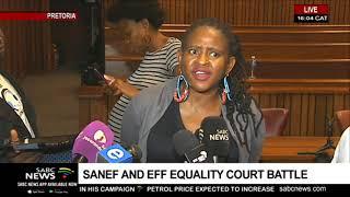 SANEF vs EFF | Mahlatse Mahlase addresses the media after court proceedings