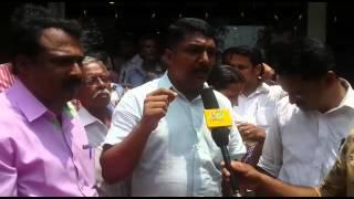 Strike against Vazhakulam Post Office