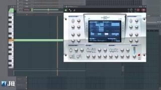 jq fl studio강좌 34 넥서스2 사용방법과 넥서스2 를 이용한 노래만들기