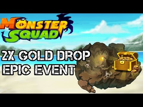 MONSTER SQUAD 2x GOLD EVENT | TREASURE ISLAND