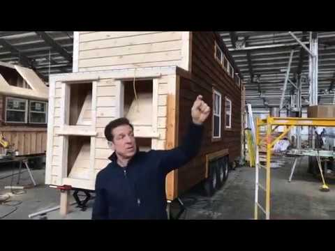 Incredible Tiny Homes Live:  Current Under Construction Homes