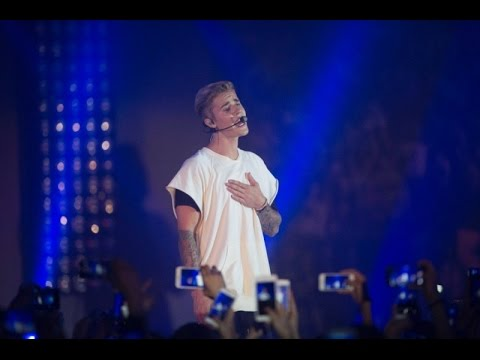 Justin Bieber Live 2015, Hong Kong Calvin Klein Event | ALAYM, Baby, BAAB, Boyfriend, WAÜN