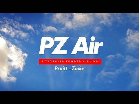 Pruitt-Zinke Airlines-- A taxpayer funded airline!