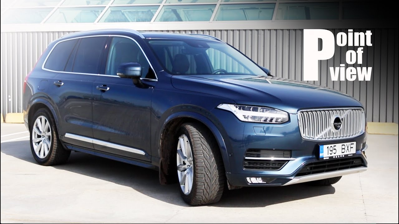 Volvo XC90 D5 Inscription - big Swed against the Germans! [POV REVIEW]