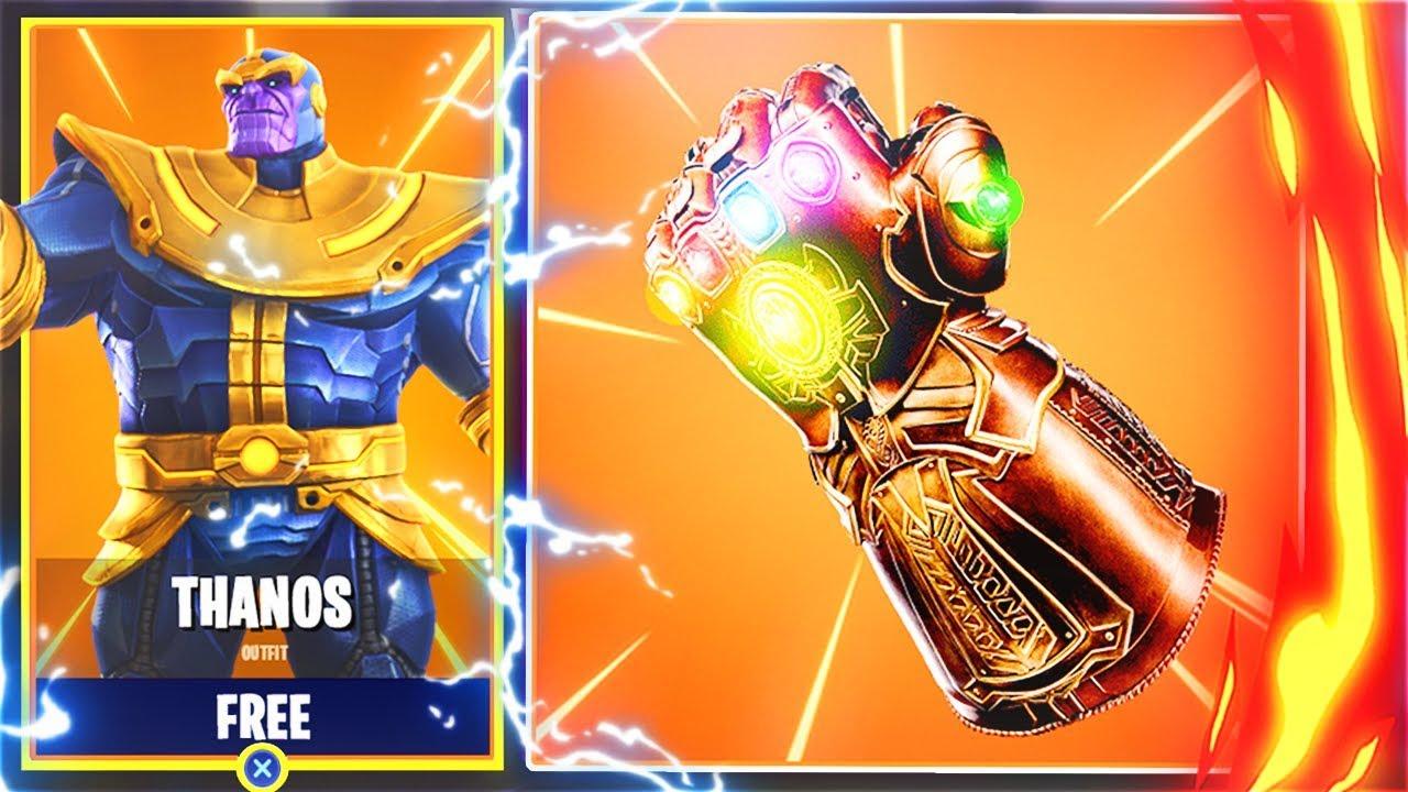 New Free Thanos Skin In Fortnite New Avengers Update In Fortnite