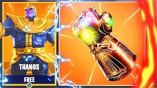 New Free THANOS Skin In Fortnite! New AVENGERS Update In Fortnite Battle Royale! (Fortnite Update)