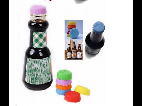 Силиконовые крышки для бутылки. Silicone Beer Saver Bottle Cap