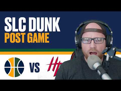 Utah Jazz lose to Houston Rockets Reaction HARDEN DROPS 56!!!