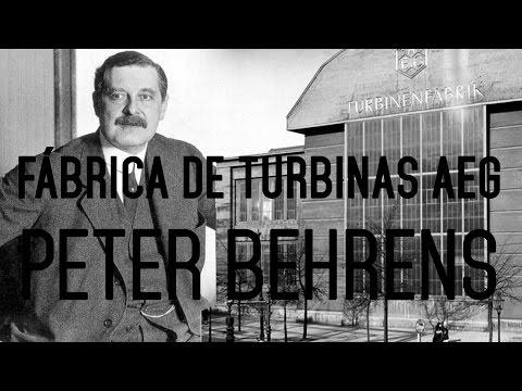 FÁBRICA DE TURBINAS AEG - PETER BEHRENS
