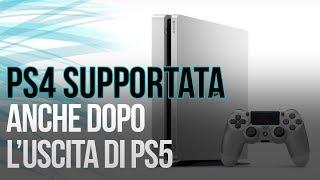 PlayStation 4 non verrà abbandonata dopo l'uscita di PS5