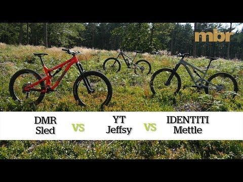 DMR Sled vs YT Jeffsy vs IDENTITI Mettle | Grouptest | MBR