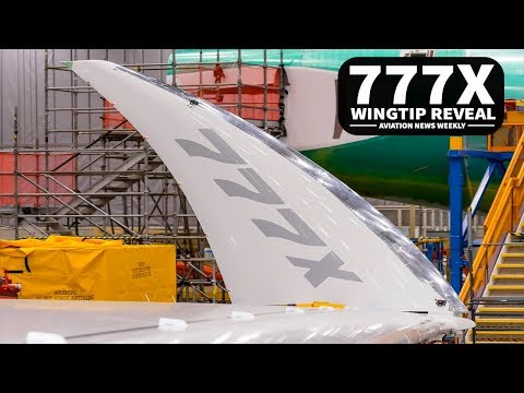 777x WINGTIP REVEAL - DELTA A220 | Aviation News Weekly