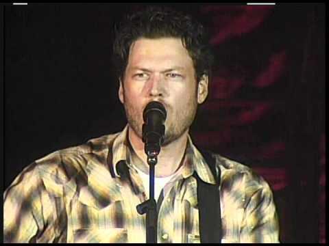 BLAKE  SHELTON   Old Red 2009 LiVE
