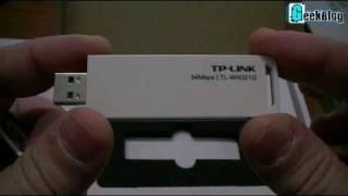 Adattatore Penna Wireless Wifi G USB 54 Mbps Wlan Wi-fi TP-LINK TL-WN321G Rete senza Fili thumbnail