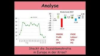 Steckt die Sozialdemokratie in Europa in der Krise? - Teil 1: Griechenland, Spanien, Niederlande, UK