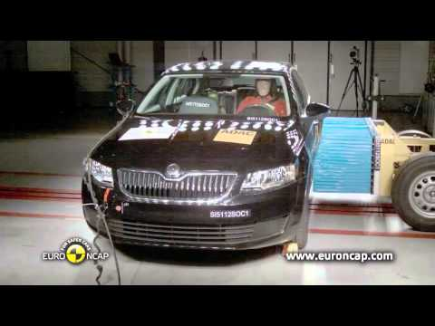 Octavia 2011 Crash Test Skoda Octavia 2013 Crash Test