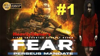 F.E.A.R Perseus Mandate Gameplay Walkthrough (PC) Interval 01:Investigation - Arrival