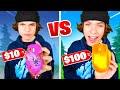 $10 Mouse vs $100 Mouse Challenge! - Fortnite