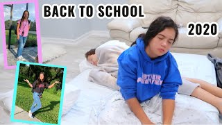 GRWM :  FIRST DAY OF SCHOOL 6TH & 8TH GRADE | SISTER FOREVER