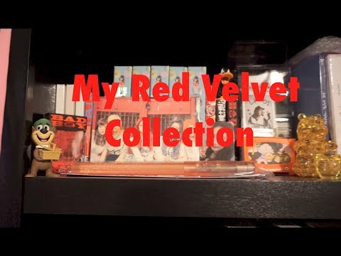 My Complete Red Velvet Collection!! [Albums, Photocards, Merchandise]